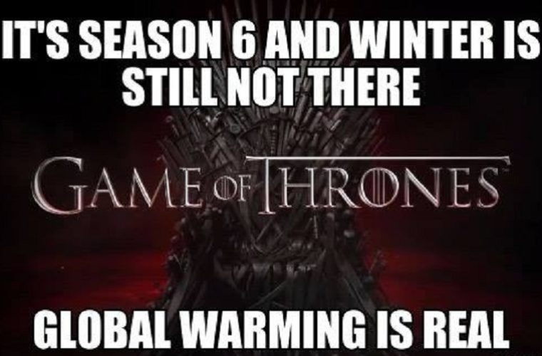 Winter Is Still Not There