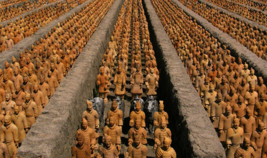 Terracotta Army – Guarding the City of Death