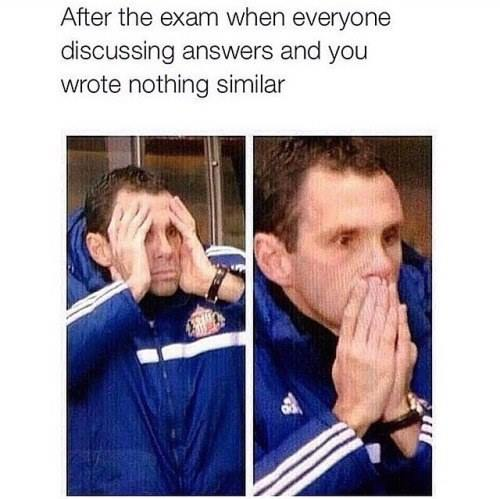 After The Exam