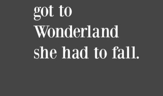 Alice Got To Wonderland