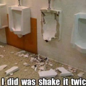 Bathroom Shake