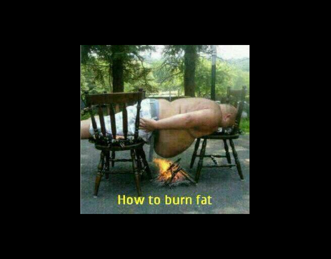 How to lose half your body fat