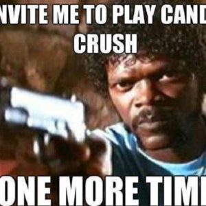 Candy Crush Invite