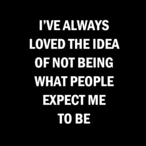 Expect Me To Be