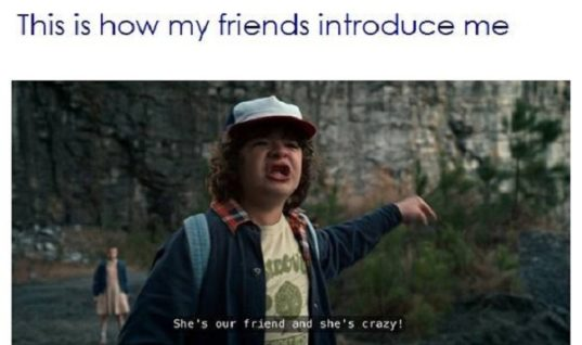 How Friends Introduce Me