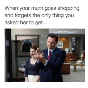 Mum Goes Shopping