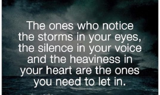 Storms In Your Eyes