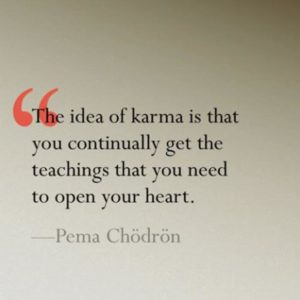 The Idea Of Karma
