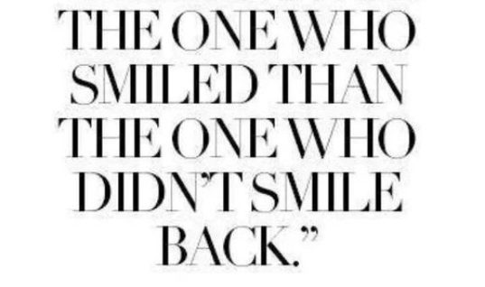 The One Who Smiled