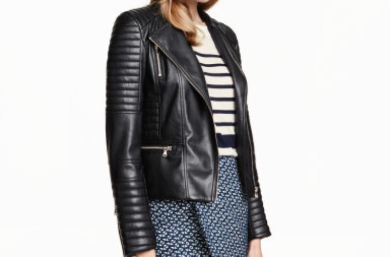 Embrace Your Edgy Side With This Thrifty Faux Leather Jacket Funny
