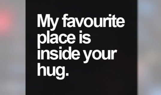 Inside Your Hug