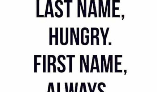 Last Name Hungry