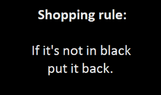 Shopping Rule