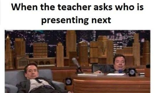 The Teacher Asks