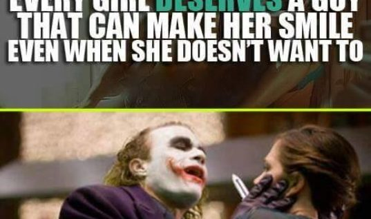 A Guy That Can Make Her Smile