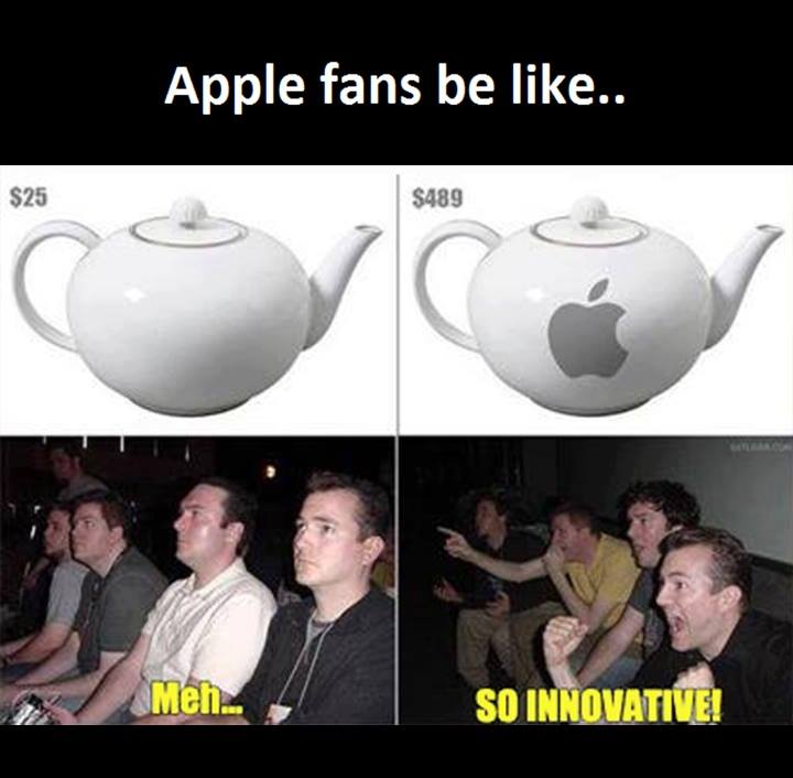 Funny Apple Meme : Apple fans funny pictures quotes memes images