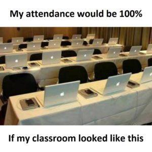 Attendance Would Be 100