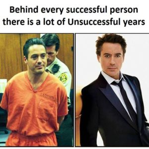 Behind Every Successful Person
