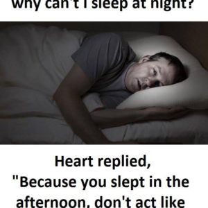 Can't Sleep At Night