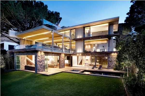 Contemporary House Architecture In Higgovale Cape Town | Funny ...