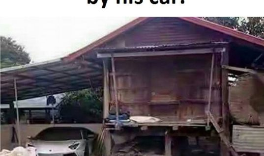 Don't Judge A Man By His House