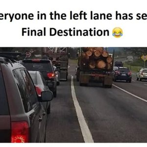 Everyone In The Left Lane