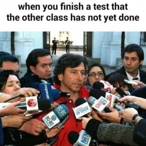 Finish A Test