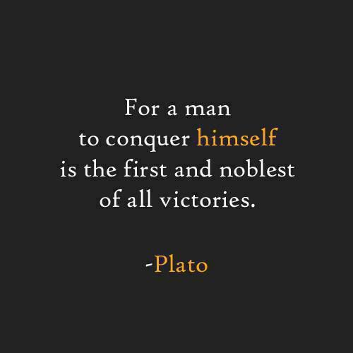 For A Man To Conquer