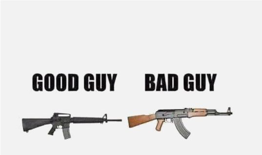 Good Guy And Bad Guy