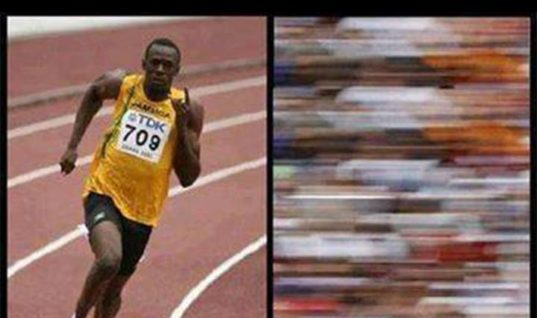 How We See Usain Bolt