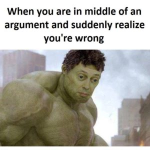 In Middle Of An Argument