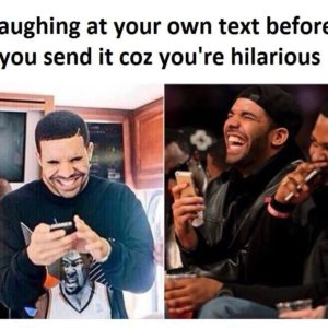 Laugh At Your Own Text