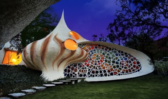 Nautilus: A Whimsical Shell Shaped House