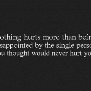 Nothing Hurts More