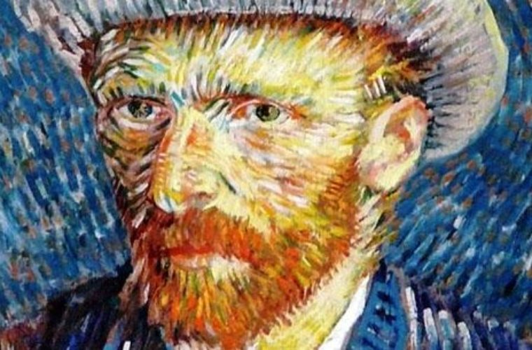 The Man Behind The Painting Vincent Van Gogh Funny