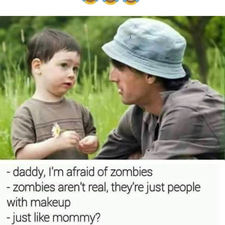 Afraid Of Zombies