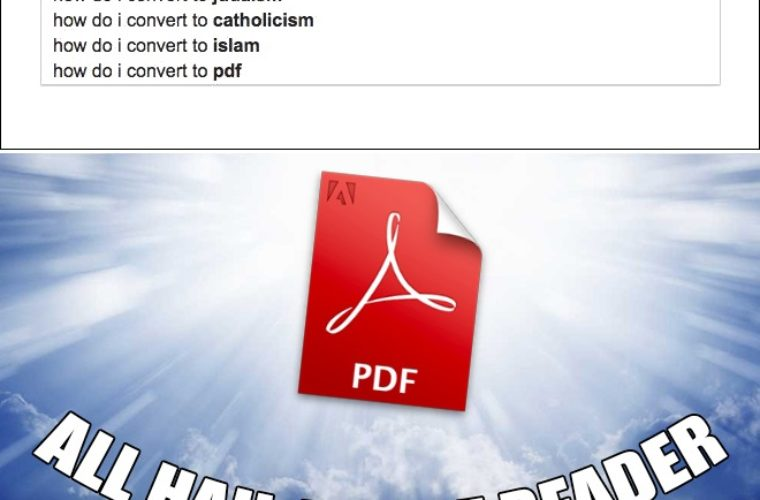 All Hail Adobe Reader | <b>Funny</b> Pictures, Quotes, Memes, <b>Funny</b> ...