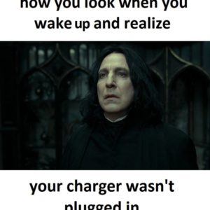 Charger Wasn't Plugged In