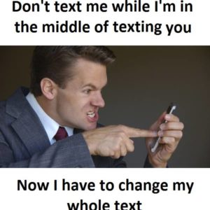Don't Text Me