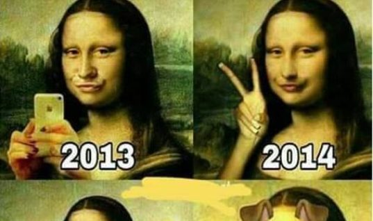 Evolution Of Selfies
