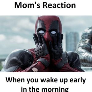 Mom's Reaction