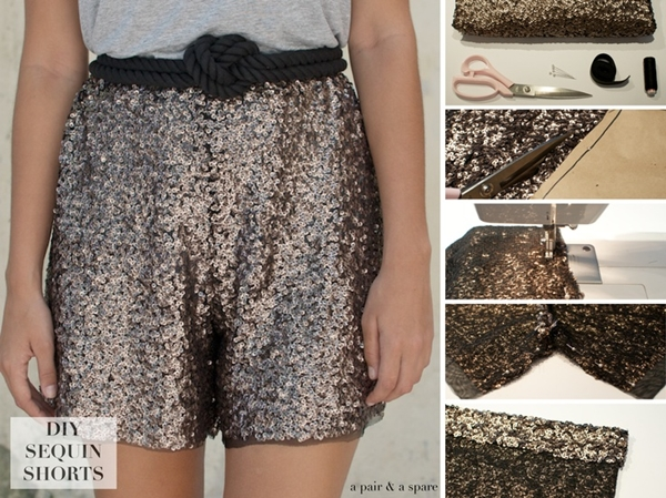 DIY Fashion shorts