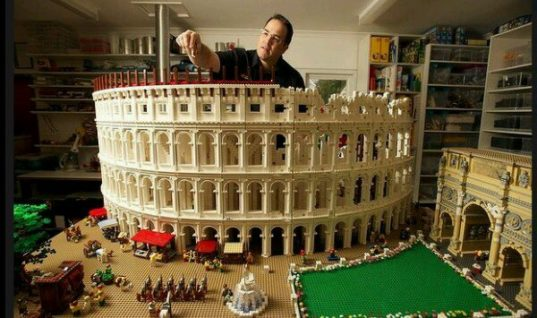 First LEGO Colosseum in the world
