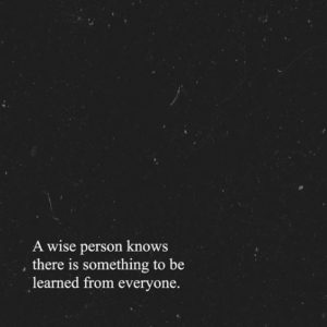 A Wise Person