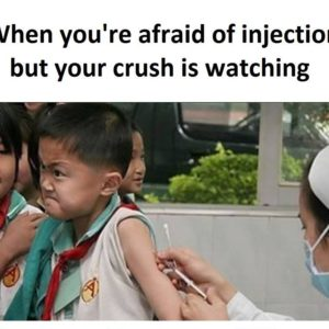 Afraid Of Injection