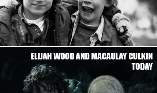 Elijah Wood and Macaulay Culkin