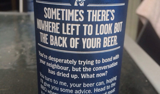 Helpful Beer Can