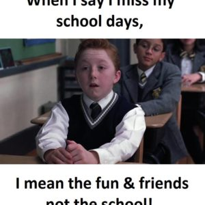 Miss School Days