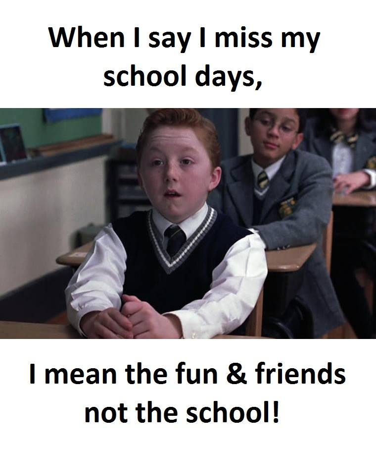 Miss School Days | Funny Pictures, Quotes, Memes, Funny Images