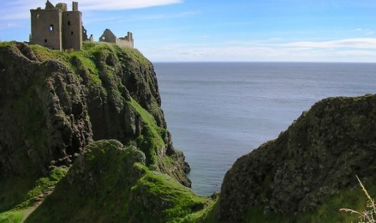 Dunnottar Fortress Stood against Cromwell's Army